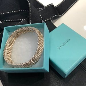 Tiffany Sterling Silver Somerset Bracelet